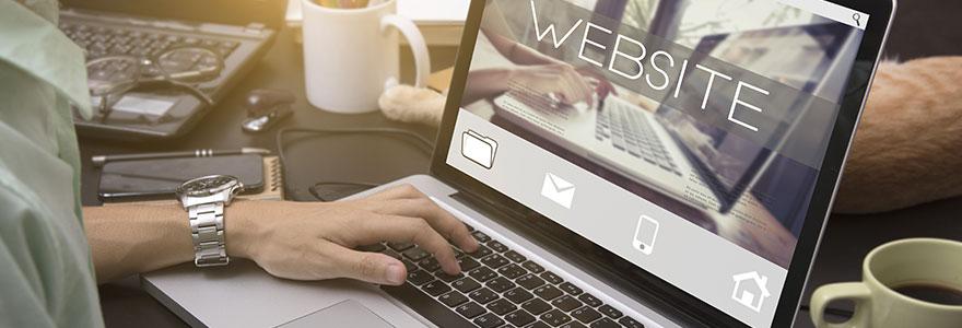 site internet en ligne